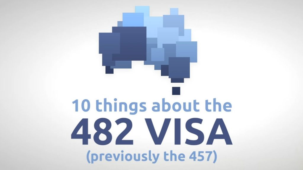 What Is A 482 Visa Australia